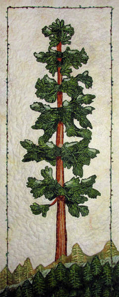 Tapestry - Textile - Standing Tall by Pam Geisel