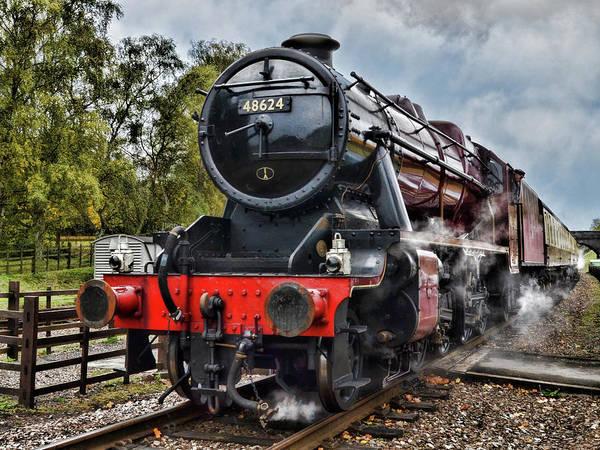 Photograph - Stanier 48624 by Steam Train