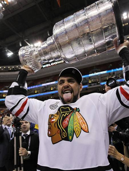 Stanley Cup Playoffs Photograph - Stanley Cup Finals - Chicago Blackhawks by Bruce Bennett