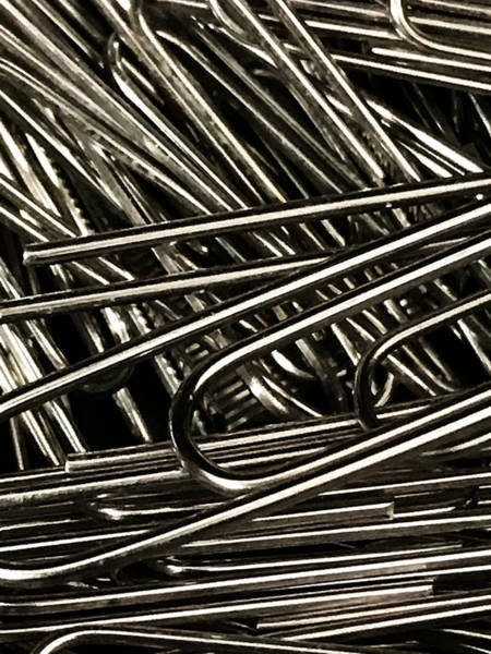 Photograph - Staples In The Paperclips by Jeff Iverson