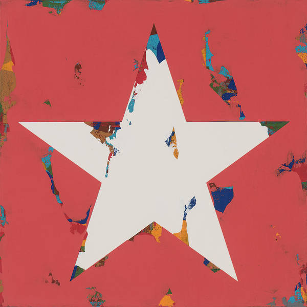 Wall Art - Painting - Star #10 by David Palmer