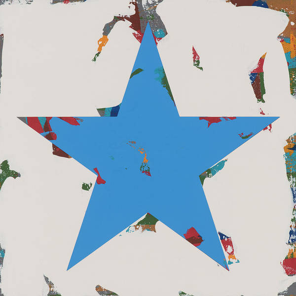 Wall Art - Painting - Star #11 by David Palmer
