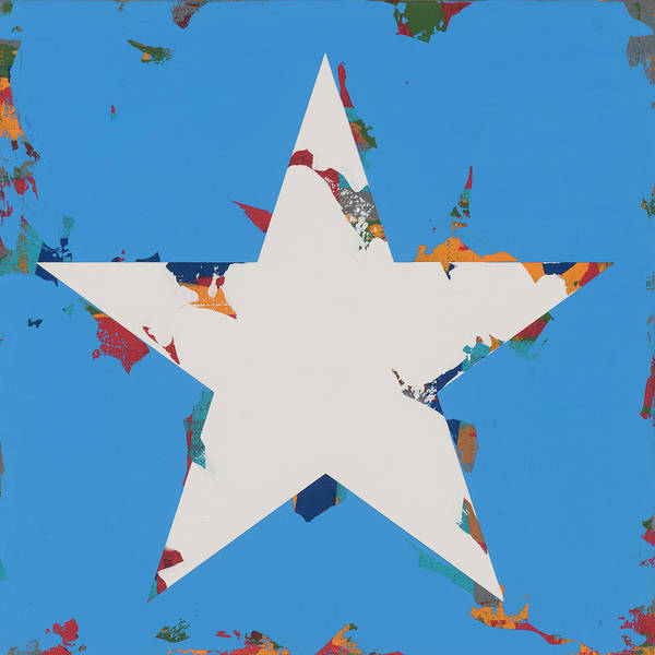 Wall Art - Painting - Star #12 by David Palmer