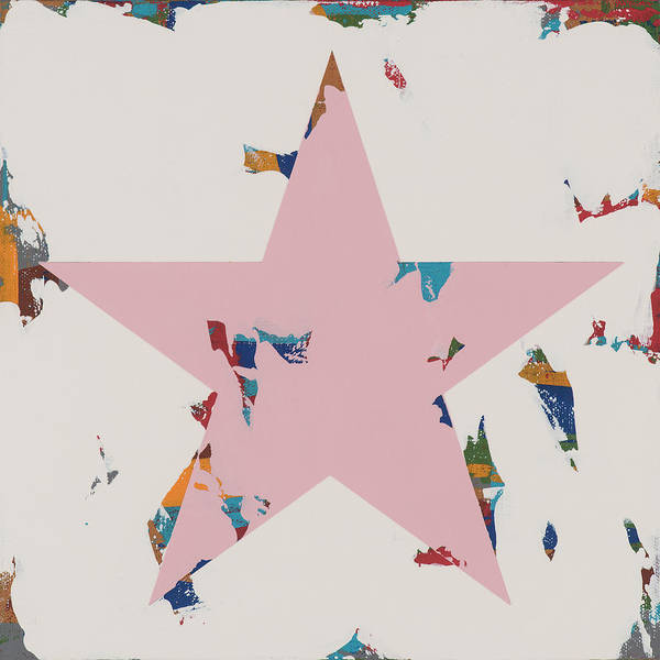 Wall Art - Painting - Star #13 by David Palmer
