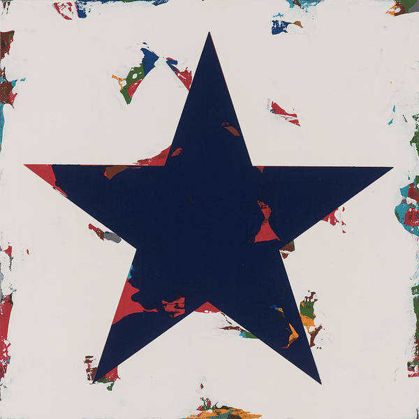 Wall Art - Painting - Star #15 by David Palmer