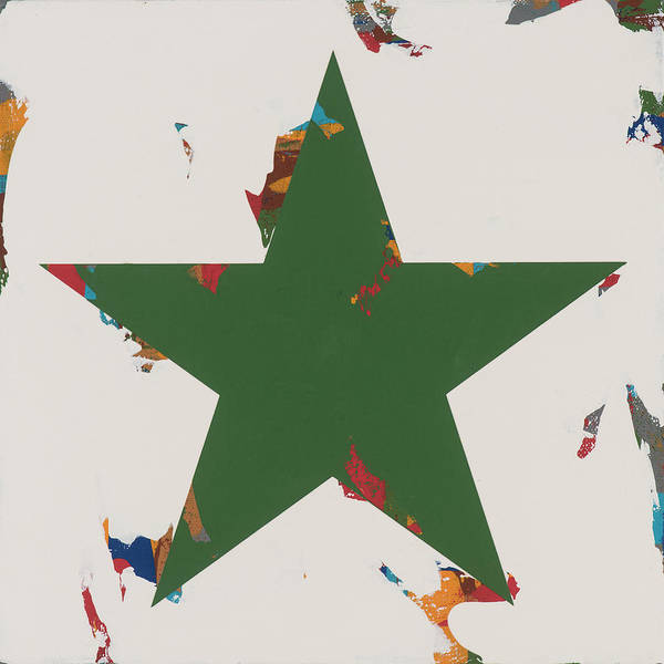 Wall Art - Painting - Star #18 by David Palmer
