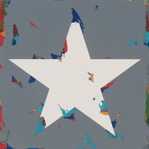 Wall Art - Painting - Star #19 by David Palmer