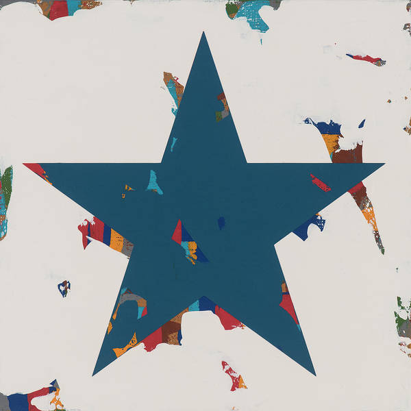 Wall Art - Painting - Star #2 by David Palmer