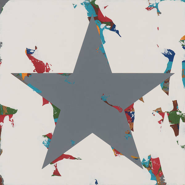 Wall Art - Painting - Star #20 by David Palmer