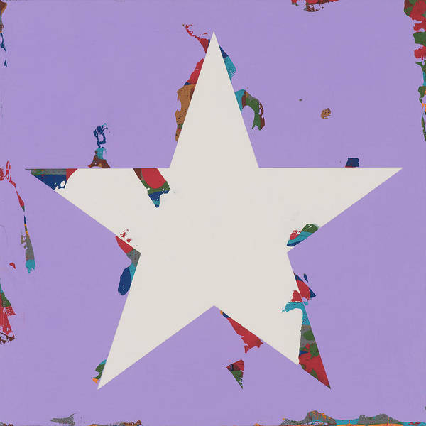 Wall Art - Painting - Star #21 by David Palmer