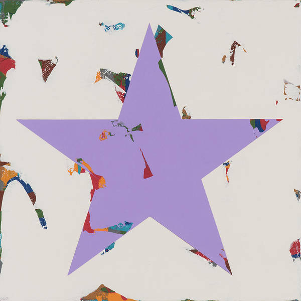 Wall Art - Painting - Star #22 by David Palmer