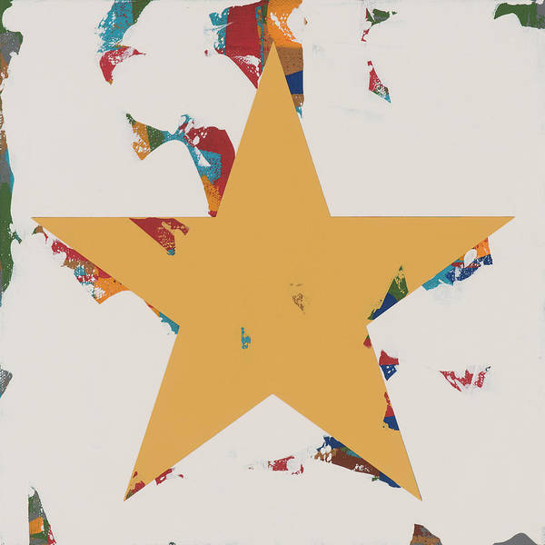 Wall Art - Painting - Star #23 by David Palmer
