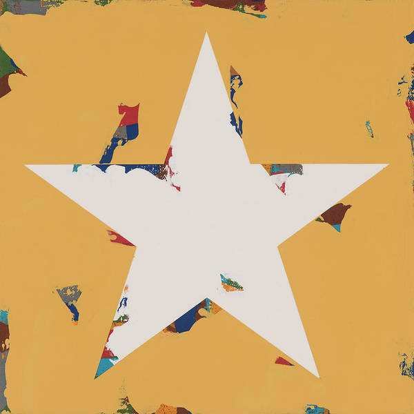 Wall Art - Painting - Star #24 by David Palmer
