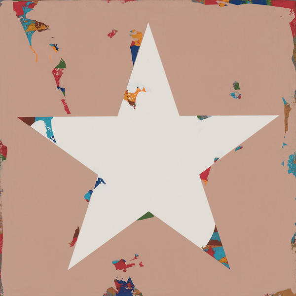 Wall Art - Painting - Star #26 by David Palmer