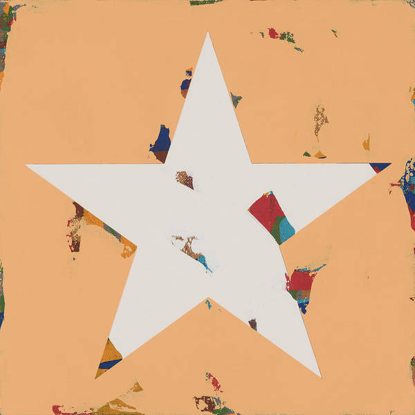 Wall Art - Painting - Star #27 by David Palmer