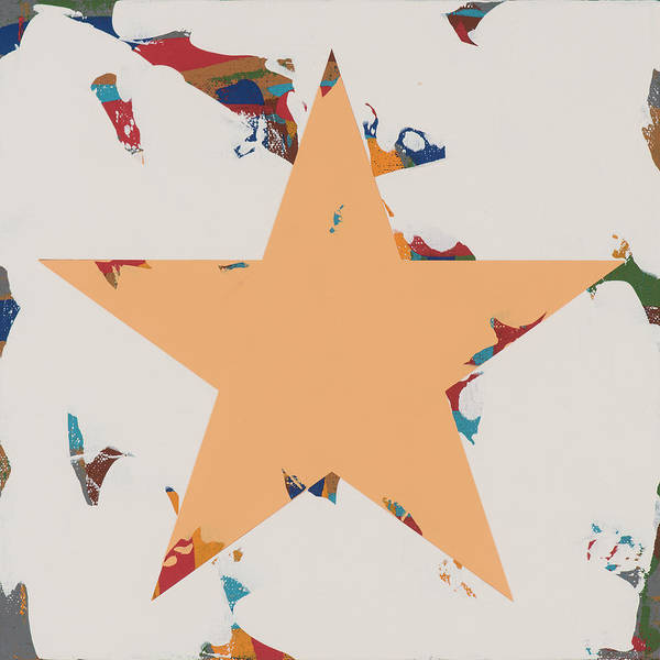 Wall Art - Painting - Star #28 by David Palmer