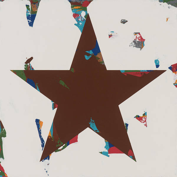 Wall Art - Painting - Star #30 by David Palmer
