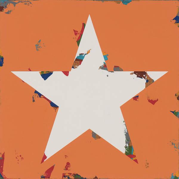 Wall Art - Painting - Star #4 by David Palmer