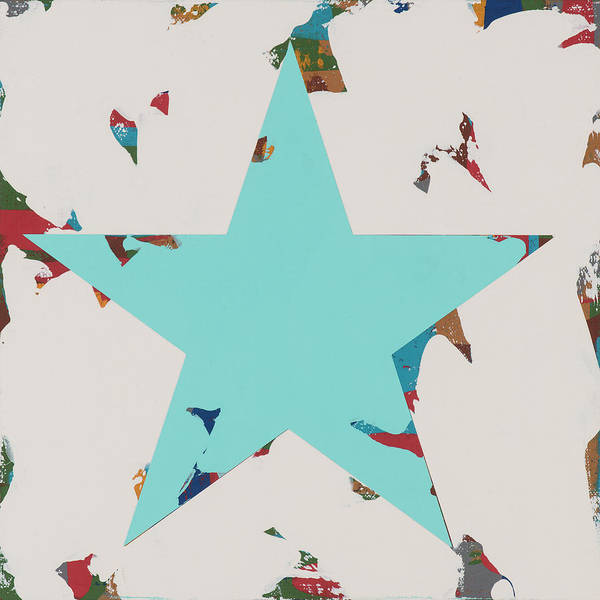 Wall Art - Painting - Star #7 by David Palmer