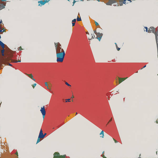 Wall Art - Painting - Star #9 by David Palmer