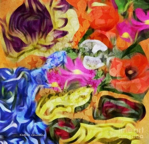 Digital Art - Star Bright by Kathie Chicoine