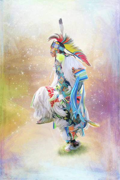 Digital Art - Star Dancer by Ramona Murdock