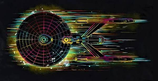 Photograph - Star Trek Enterprise N C C 1701 by Rob Hans