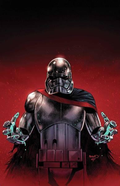 Star Wars Wall Art - Digital Art - Star Wars Captain Phasma by Geek N Rock