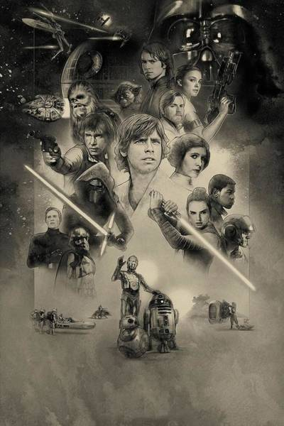 Wall Art - Digital Art - Star Wars Celebration 2017 by Geek N Rock
