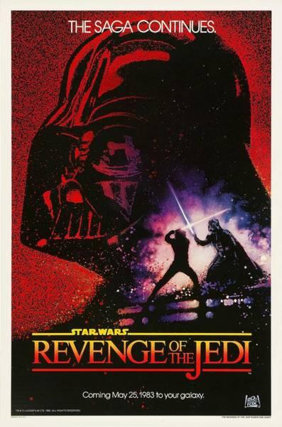 Star Wars Wall Art - Digital Art - Star Wars Episode Vi Revenge Of The Jedi by Geek N Rock