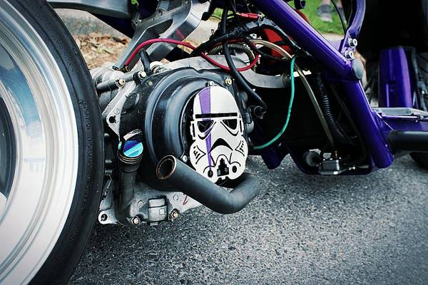 Wall Art - Photograph - Star Wars Honda Ruckus  by Dale Shaver