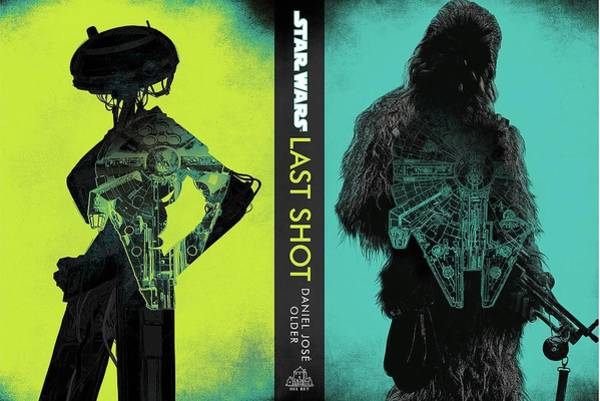 Star Wars Wall Art - Digital Art - Star Wars Last by Geek N Rock