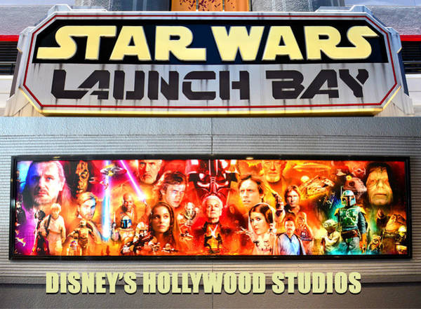 Wall Art - Photograph - Star Wars Launch Bay Photographic Poster Work A by David Lee Thompson