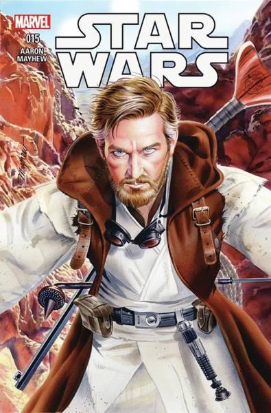 Star Wars Wall Art - Digital Art - Star Wars Obi Wan by Geek N Rock