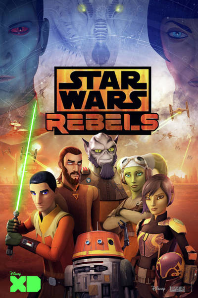 Wall Art - Digital Art - Star Wars Rebels by Geek N Rock