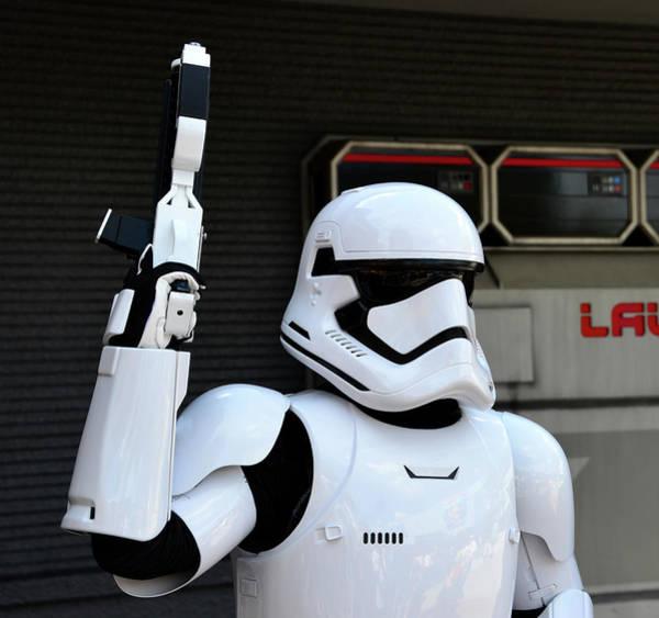 Wall Art - Photograph - Star Wars Storm Trooper by David Lee Thompson