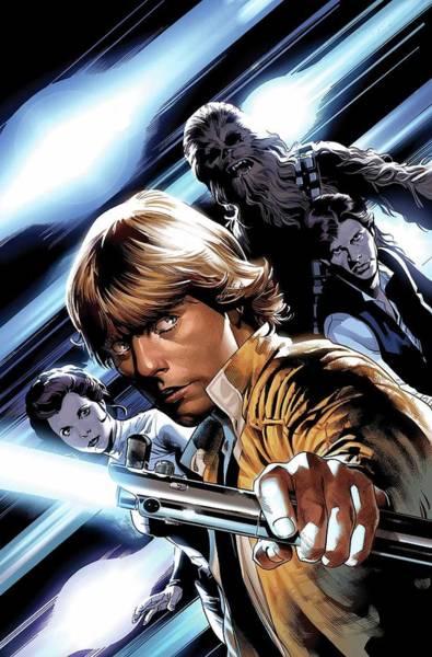 Star Wars Wall Art - Digital Art - Star Wars Volume 1 by Geek N Rock