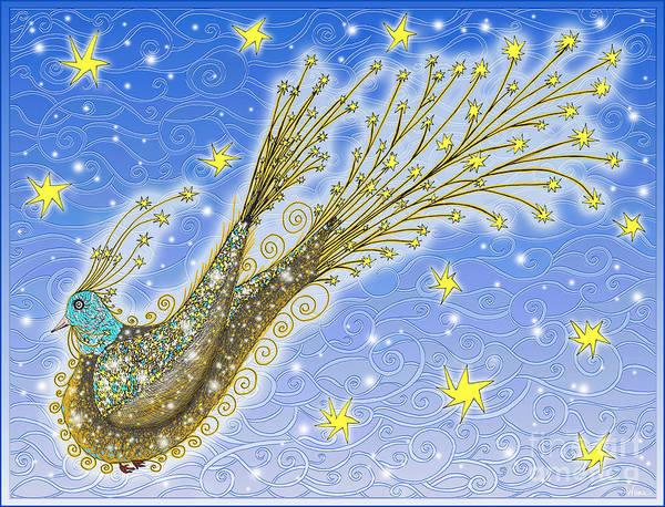 Digital Art - Starbird by Lise Winne