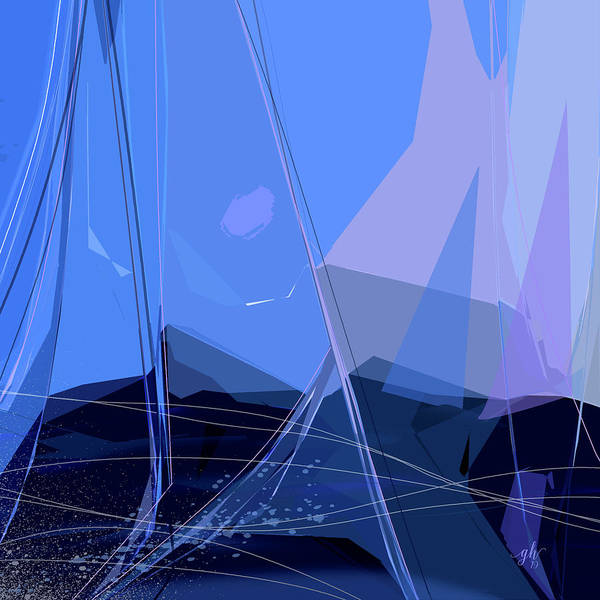 Digital Art - Starboard by Gina Harrison