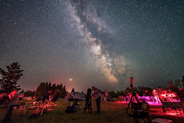 Wall Art - Photograph - Stargazers Under The Milky Way by Alan Dyer