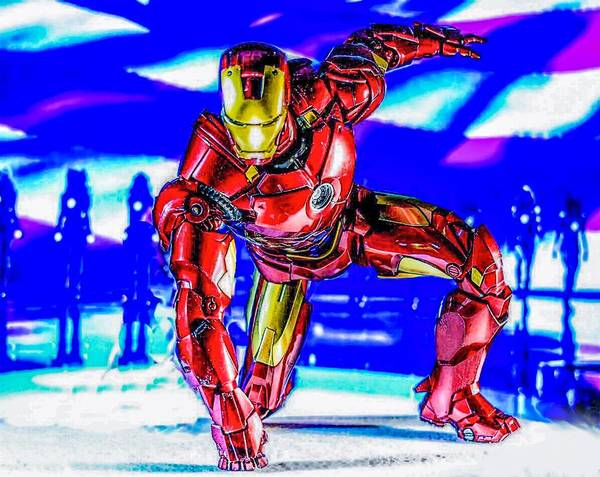 Crouching Digital Art - Stark Expo  by Jeremy Guerin