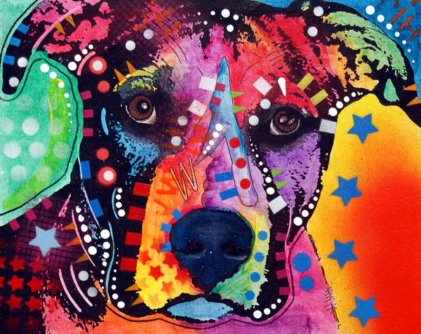 Wall Art - Painting - Starr by Dean Russo Art