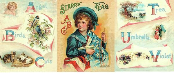 Painting - Starry Flagg Wrap A Round by Reynold Jay