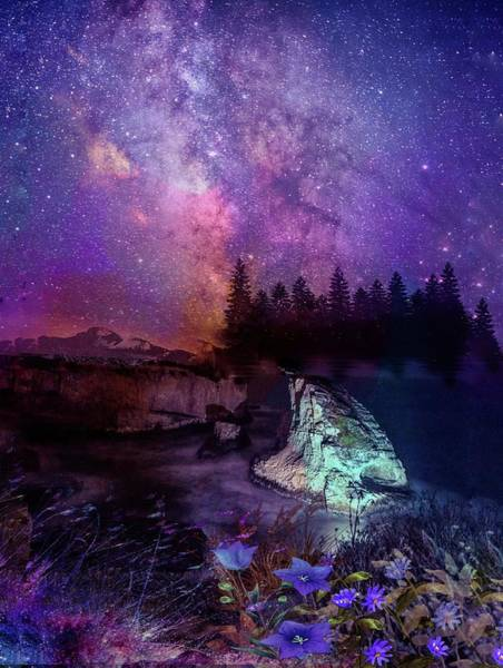Photograph - Starry Night by AE collections