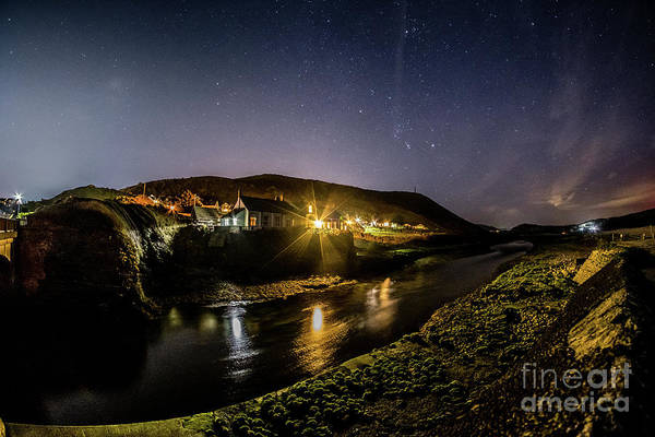 Photograph - Starry Night In Aberystwyth by Keith Morris