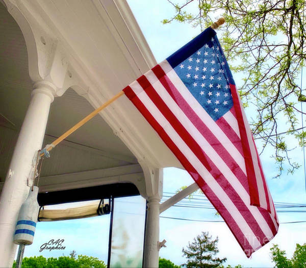 Photograph - Stars And Stripes by CAC Graphics