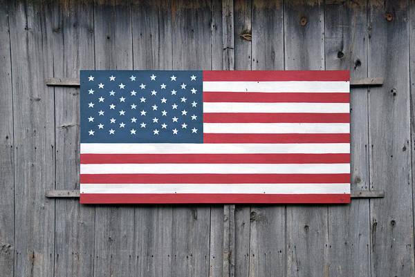 Usa Flag Photograph - Stars And Stripes by Frankvandenbergh