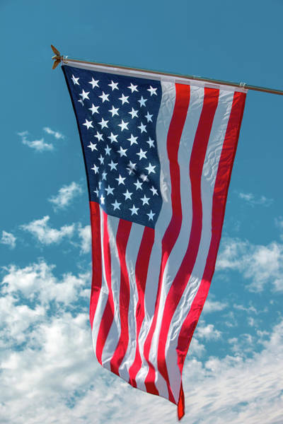 Wall Art - Photograph - Stars And Stripes Hanging by Todd Klassy