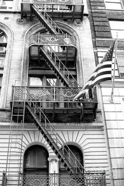 Photograph - Stars And Stripes In New York City by John Rizzuto