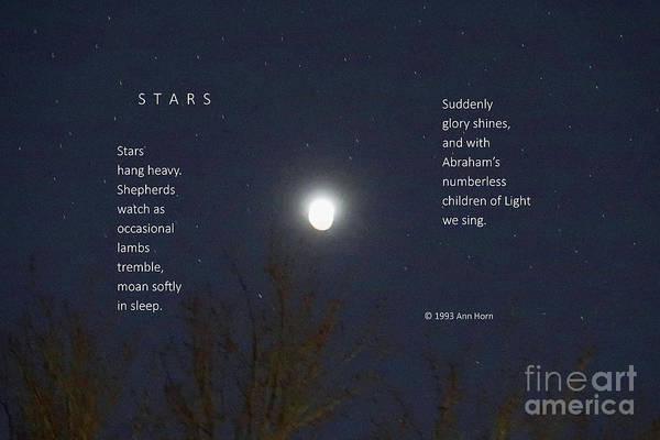 Photograph - Stars by Ann Horn
